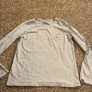 VINEYARD VINES Christmas long sleeve Shirt MEDIUM